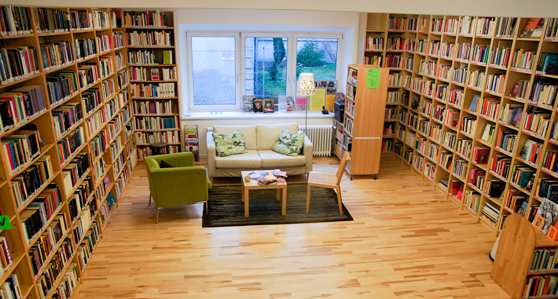 Lesezimmer aep-Frauenbücherei