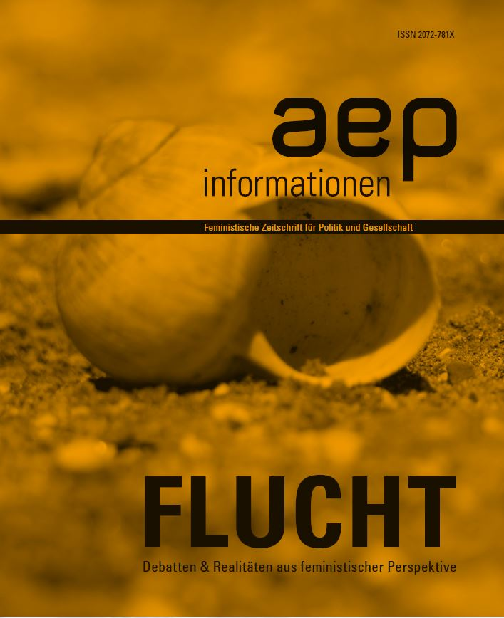 """aep informationen """"Flucht"""" 2016/2"""