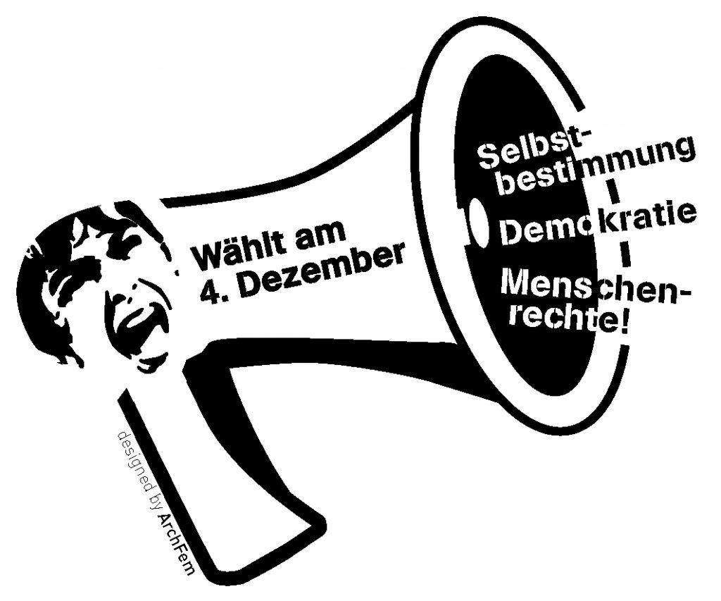 Megafon - Wählt am 4. Dezember