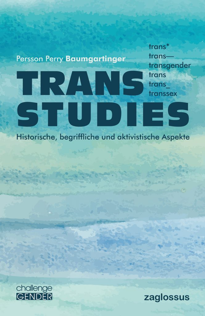 Buchtitel Trans Studies - Persson Perry Baumgartinger