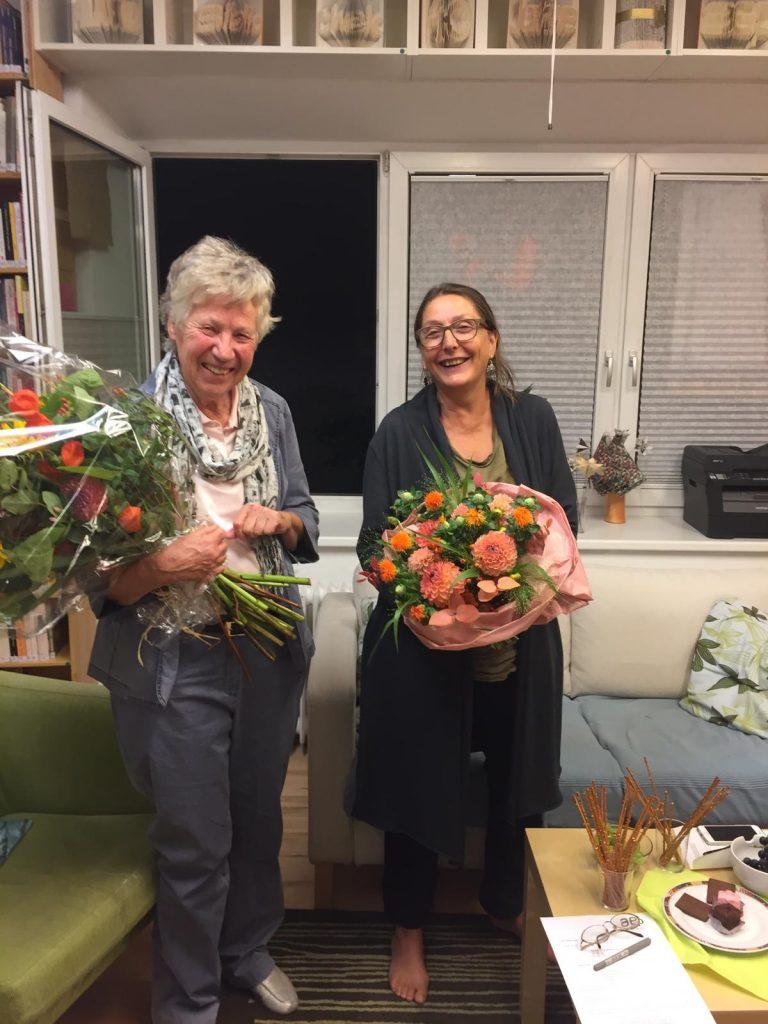 Monika Jarosch und Christine Baur